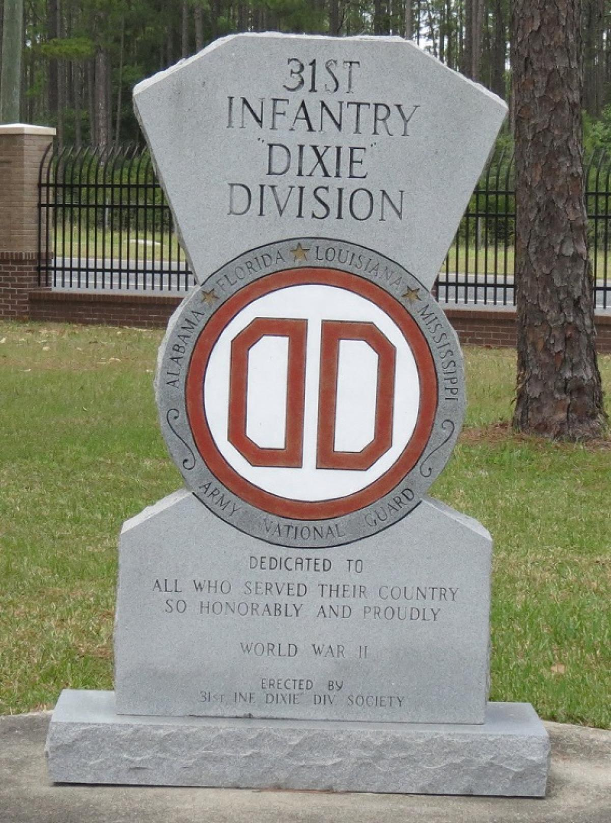 United states army 31st infantry division dixie city of grove ok grove headstone symbols and meanings u s army 31st infantry dixie division buycottarizona
